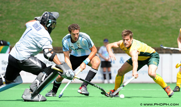 Argentina and South Africa last met at the Champions Challenge 1 and will play each other again in London