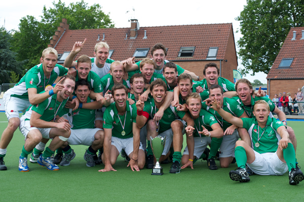 Ireland - Winners of the 2011 FIH Men's Champions Challenge 2