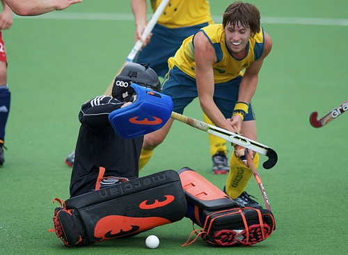 Owen G Glenn FIH Champions Trophy - Day 2 - Great Britain v Australia