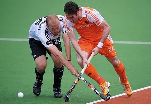 Germany and Netherlands battle for the Olympic title this evening