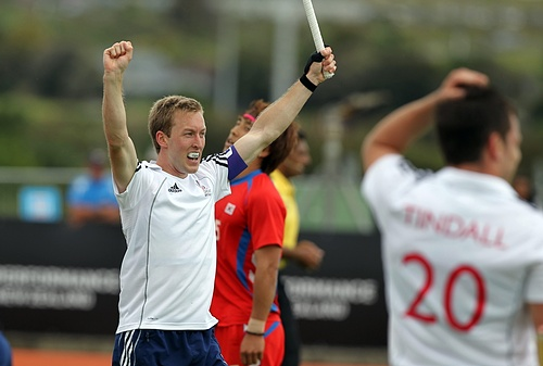Barry Middleton will be the heart of the GB team, and captain, in London