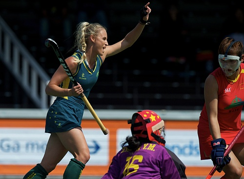Rabo FIH Champions Trophy - Day 4 - China v Australia