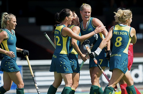 Australia comes to London with one of the youngest women's squads.