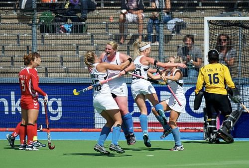 New Zealand women claimed Bronze at the 2011 Champions Trophy
