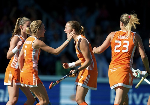 The Dutch women have had much to celebrate since the 2008 Games
