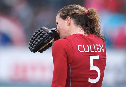 Crista Cullen scored against Argentina
