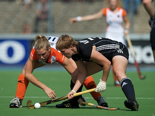 Germany and the Netherlands faced off in a two-game series
