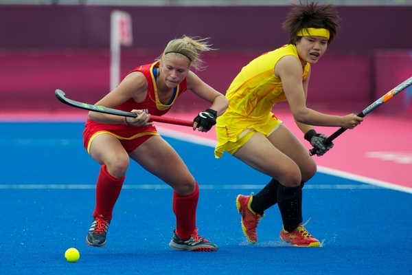 Remember this? Belgium picked up its first-ever Olympic point after a draw against China on Day 3
