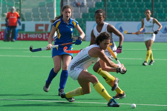 2012 Women's FIH Road to London, Delhi - South Africa vs. Ukraine