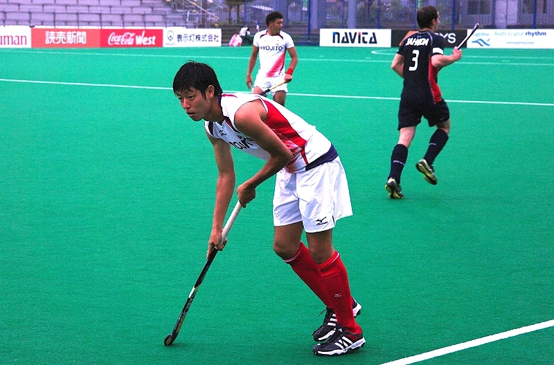 The Japanese men earned a 6-0 win against the Czech Republic