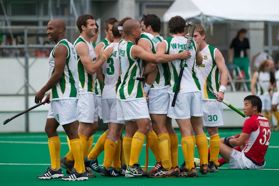 South Africa topped Japan in the Olympic Qualifier to earn it's spot in London
