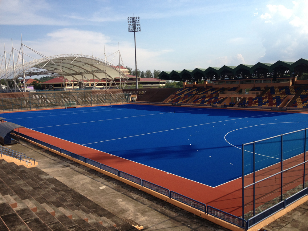 Main Pitch of the Kuantan Hockey Stadium