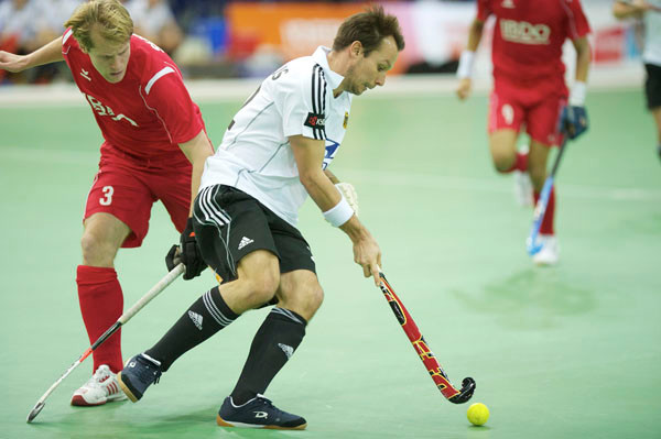 Matthias Witthaus scored 4 goals against Switzerland