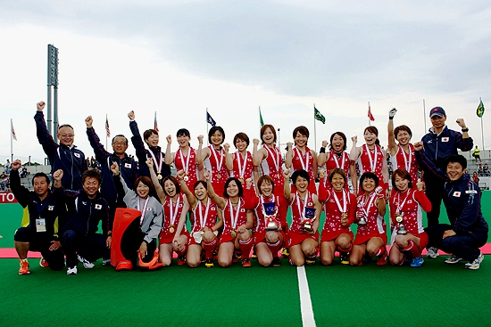 Japan wins the last ticket to the women's Olympic Hockey Tournament