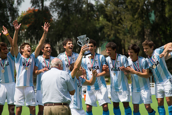 Argentina men claimed their tenth consecutive Junior Pan American title