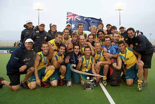 Australia, winners of the Owen G Glenn FIH Champions Trophy