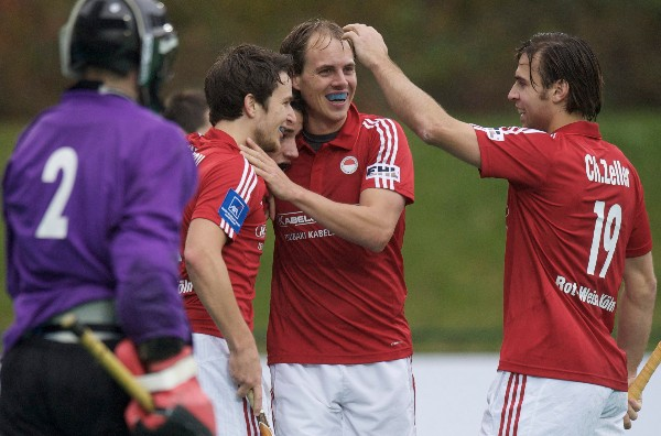 Germany's Rot-Weiss Koeln were one of 16 qualifiers for the next phase of the EHL.