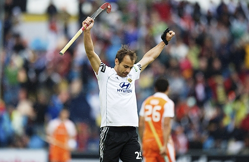 Philipp Zeller scored for Germany in the first minute of the final