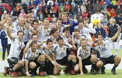 Germany men, winners of the EuroHockey Championships in 2011