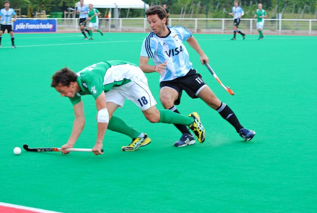 Will Ireland (in green) join Argentina at the London 2012 Olympic Games?