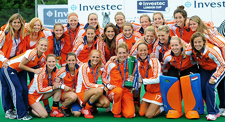 The Netherlands were crowned Investec London Cup Champions