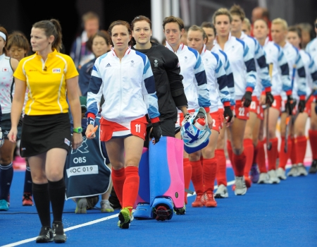 Kate Walsh (#11) will serve for four years on the Athlete's Commission