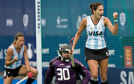 Luciana Aymar will be Argentina's flagbearer in London