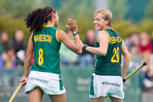 South Africa stars Marsha Marescia and Nicolene Terblanche.