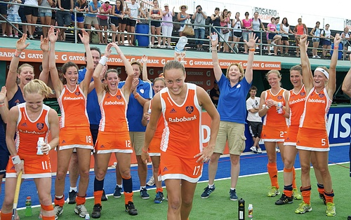 The Dutch women are the current Olympic Champions