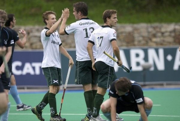 Rotterdam were in top form on Day 1 of EHL Round 1.1 Barcelona