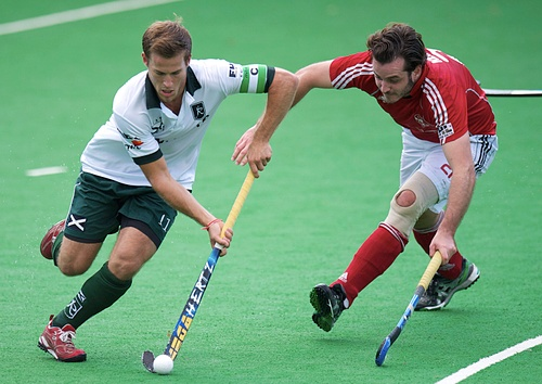 Jeroen Hertzberger scored four in Rotterdam's 11-1 win over Rotweiss Wettingen
