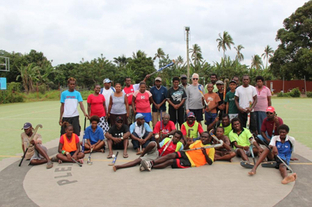 The efforts of Hockey Australia are helping to popularize the sport in Vanuatu
