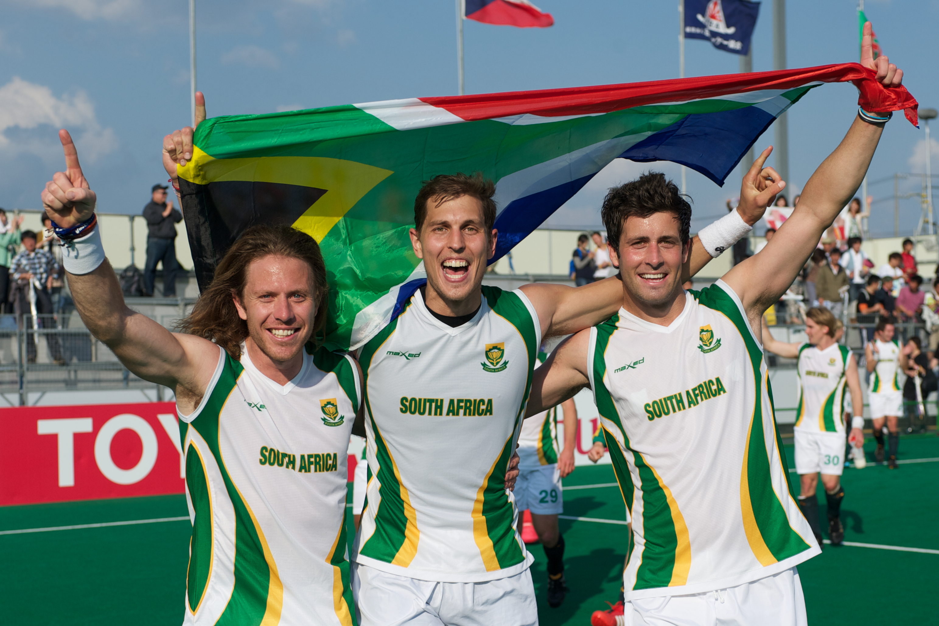 South Africa is going to London, after qualifying for the Games in Japan