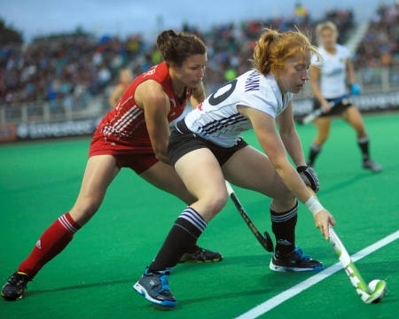 Germany beat Great Britain 2-1 earning a semi-final berth