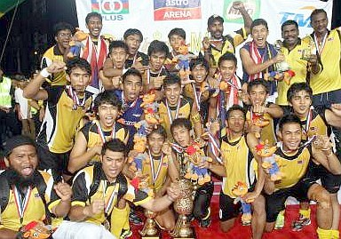 Malaysia celebrates its first-ever Junior Asia Cup title
