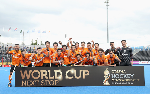 Five Nations Qualify For Odisha Hockey Men S World Cup 2018 Fih