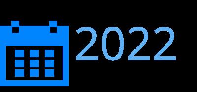 2022 Events Calendar.Event Calendar Fih